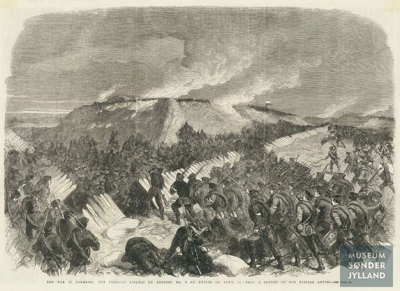 Angreb på skanse VI 18. april, 1864.