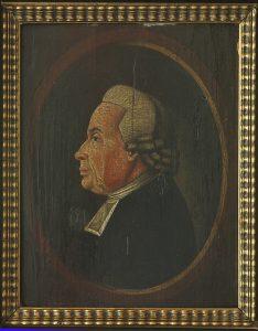 Portræt af Nicolaus Oest (1719-1798), ca. 1780. Maleri i privateje.